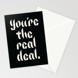You're the Real Deal Stationery Cards