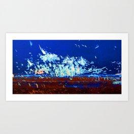Explosion 1 Art Print