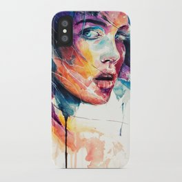sheets of colored glass iPhone Case