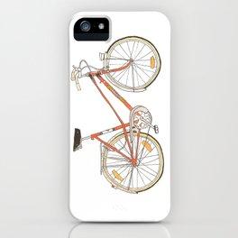 Orange Bike no 16 iPhone Case