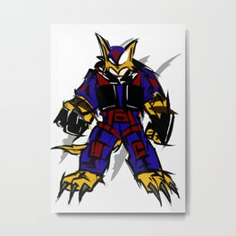 Swat Kats Metal Print