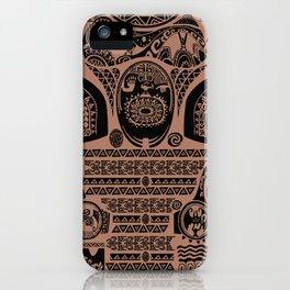 Maui Tattoos Inspired Moana iPhone Case