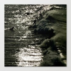 Dark Wave Canvas Print
