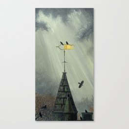 WeatherVane Jackdaws Canvas Print