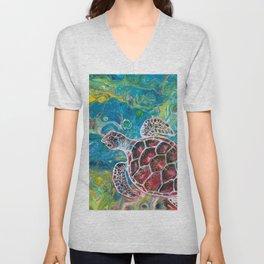 Sea Turtle Dream Unisex V-Neck