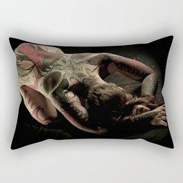 ZipperLicker Mask 01 Rectangular Pillow