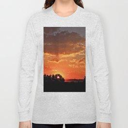 Idaho Sunset Long Sleeve T-shirt