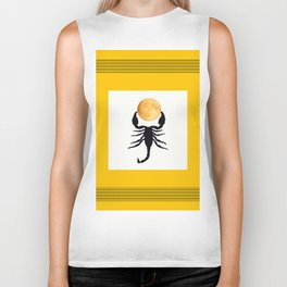 A Scorpion With The Moon In The Frame #decor #homedecor #buyart #pivivikstrm Biker Tank