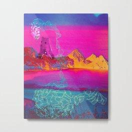 Beach ruins Metal Print