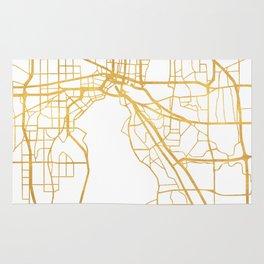 JACKSONVILLE FLORIDA STREET MAP ART Rug