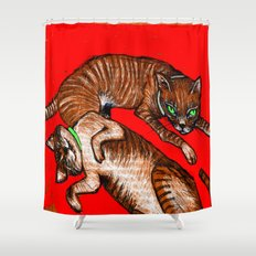 alzira&leonor Shower Curtain