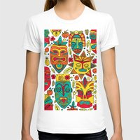 tiki T-shirts featuring Tiki tiki by Binnyboo