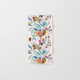 Flowers in the Wind Hand & Bath Towel