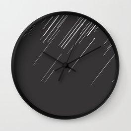 Geminid meteor shower #society6 #decor #buyart Wall Clock