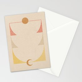 Rising Moon | 1 Stationery Cards