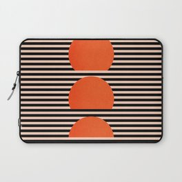 Abstraction_SUNSET_LINE_ART_Minimalism_001 Laptop Sleeve