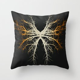 The Roots of Chaos Throw Pillow
