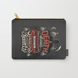Sinners and Saints Carry-All Pouch