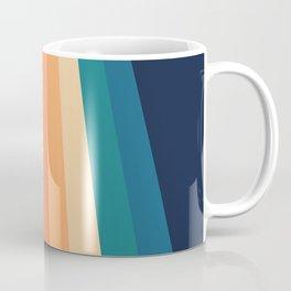 Retro Classic 70's Stripes Coffee Mug