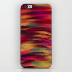 Painted Rainbows 3 iPhone Skin