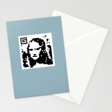QR- Monalisa Stationery Cards