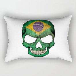 Exclusive Brazil skull design Rectangular Pillow