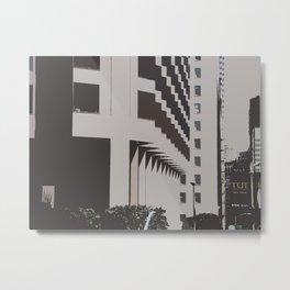 Building Shapes Metal Print