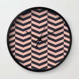 Pattern LP Wall Clock
