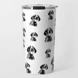 GERMAN POINTER SHORTHAIRED DOG, CHRISTMAS GIFT WRAPPED FOR ALL Travel Mug