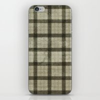 plaid iPhone & iPod Skins featuring Plaid by Joanne Anderson