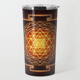 Sri Yantra XI Travel Mug