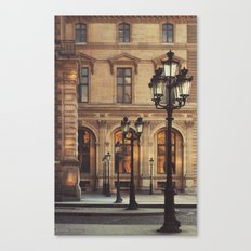 Paris lights Canvas Print