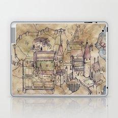 Hogwarts Map Laptop & iPad Skin
