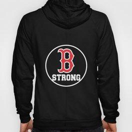 B Strong Boston Marathon Women_s Competition Navy Tribute to Runners boston Hoody