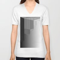 pivot V-neck T-shirts featuring R Experiment 6 (quicksort v4) by X's gallery