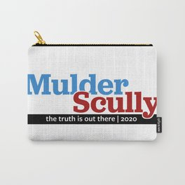 Mulder/Scully 2020 Carry-All Pouch