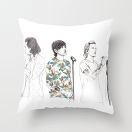 1d on stage Throw Pillow