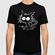Black Unkempt Kitten GabiGabi Mens Fitted Tee Black MEDIUM