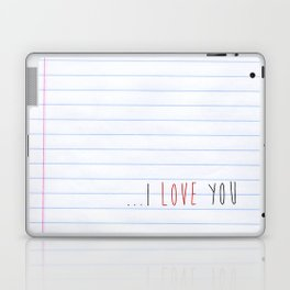 ...I Love you Laptop & iPad Skin