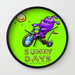 Sunny Days! Wall Clock