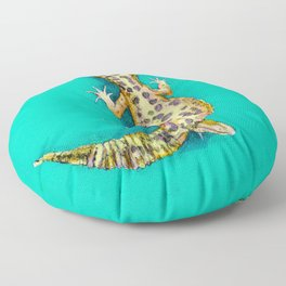 Leopard Gecko Floor Pillow