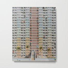 hong kong / choi hung estates, kowloon Metal Print