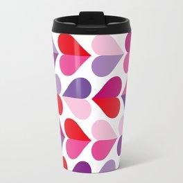 Love and Kisses in Ultra Violet Travel Mug