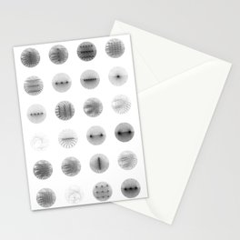 Algorithmic Moons Stationery Cards