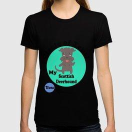 Circle Of Trust Cute Scottish Deerhound T-shirt