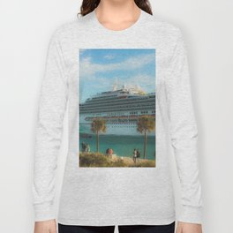 Cruisin Miami South Pointe Long Sleeve T-shirt