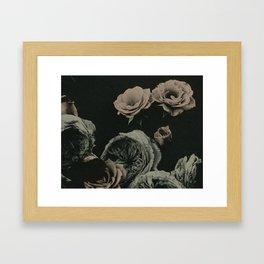 Wet Plate Botanicals #3 Framed Art Print