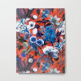 Romantic Garden IX Metal Print