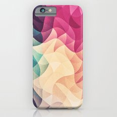 Geometry Triangle Wave Multicolor Mosaic Pattern - (HDR - Low Poly Art) - FULL iPhone 6s Slim Case