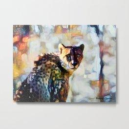 Your Cheetah Eyes Metal Print